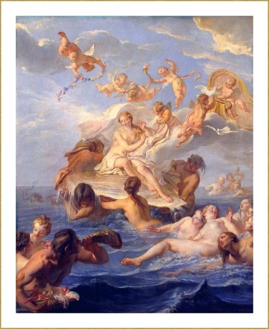 La naissance de Vénus (Noël-Nicolas Coypel)