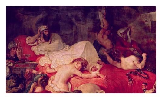 La mort de Sardanapale