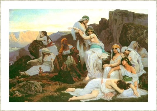 La fille de Jephtah