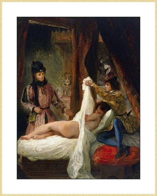 26 Duc Orleans et sa maitresse