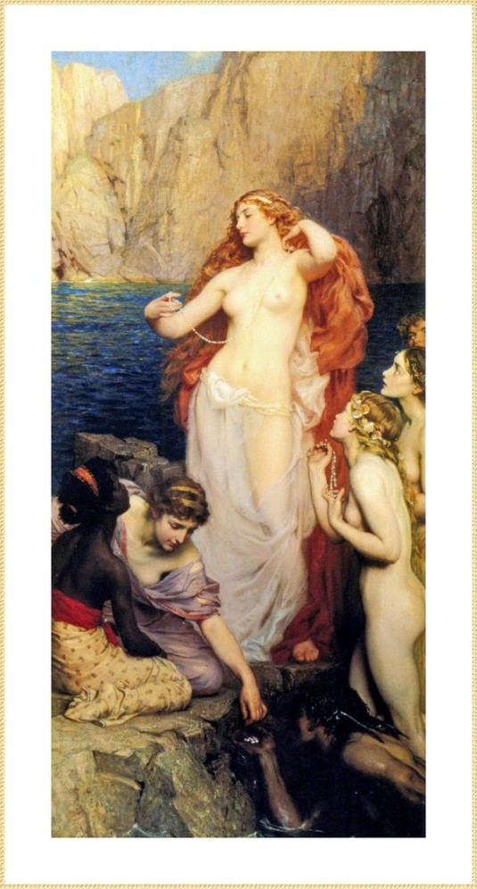104 Herbert_Draper_perles aphrodite