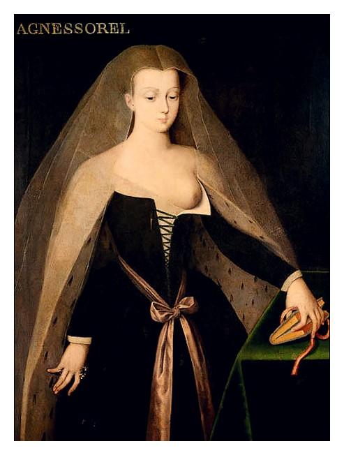 FOUQUET Agnes-Sorel-par-Jean-Fouquet-