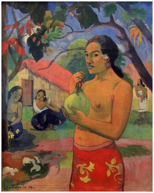 A Tahiti (Musée de l'Ermitage)