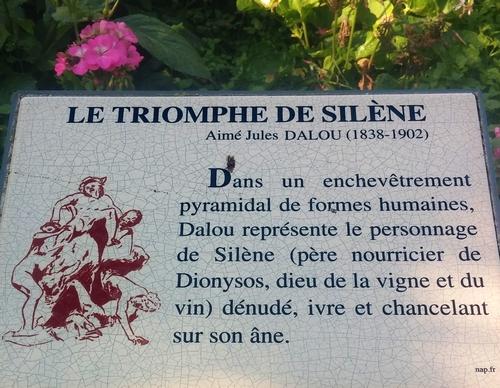 Le triomphe de Silène *