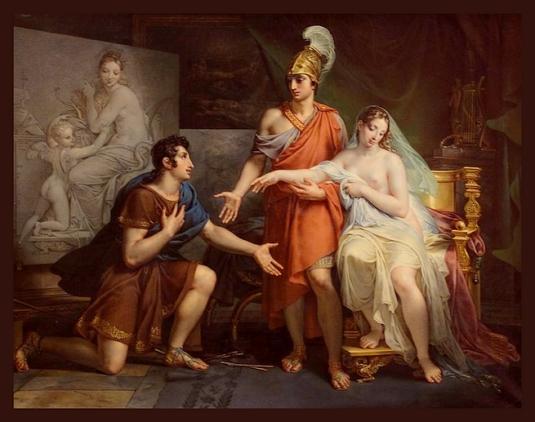 Alexandre-le-Grand céde Campaspe à Apelle