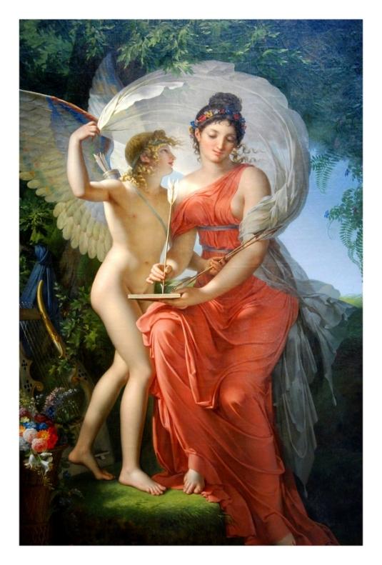 Erato, la muse de la poésie lyrique