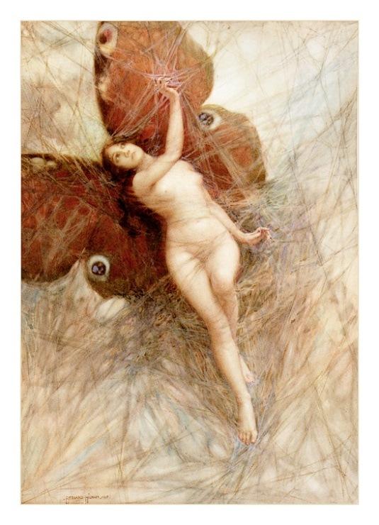 Femme Papillon - VErs un monde plus haut