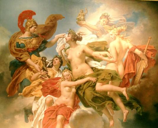 MEYNIER Les nymphes du Parthénope emportant leurs pénates sur les bords de la SeineIMG_4307