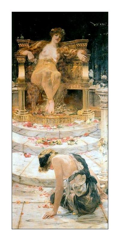 Psyche au pied de Vénus