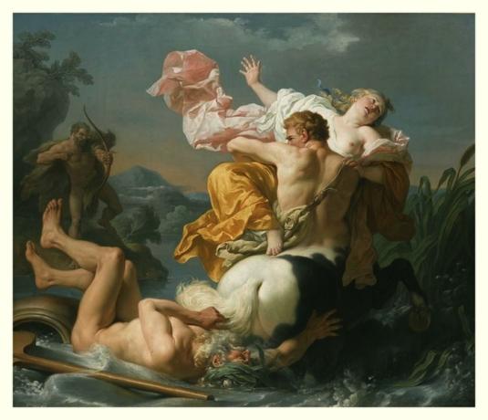 Enlevée par un centaure