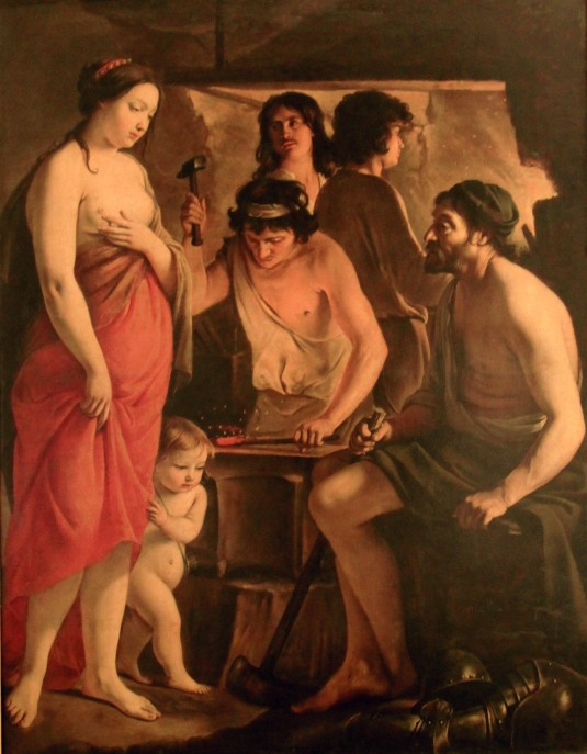 Vénus dans laforge de Vulcain (1641)