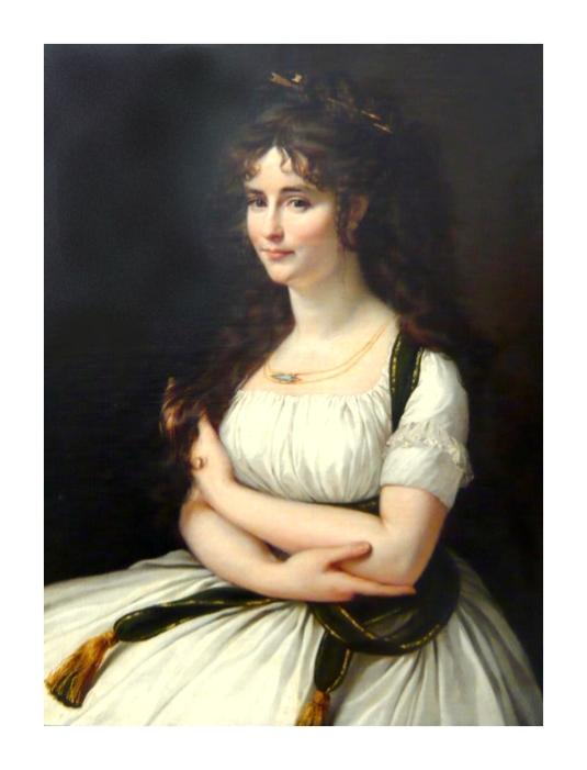 Portrait de Madeleine Pasteur