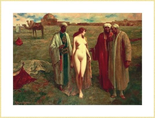 032 Eduard Ansen Hoffman-Slave Market (3)