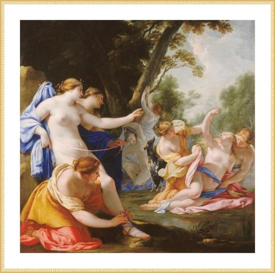 33 Eustache LeSueur Diane grossesse Callisto