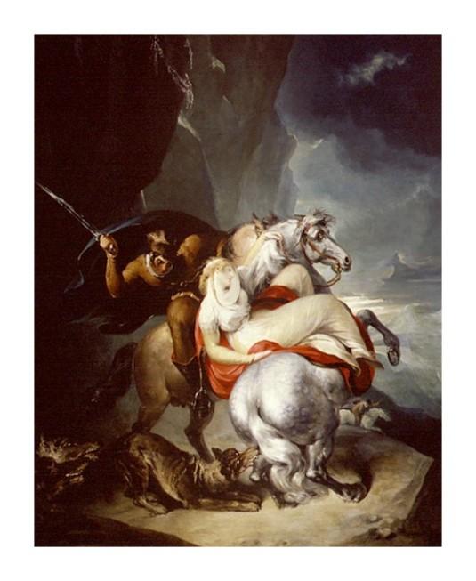 35 William_Hamiltonles loups sur la route des Alpes