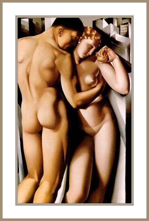 Lempicka Adam And Eve Adam et Eve Moderne