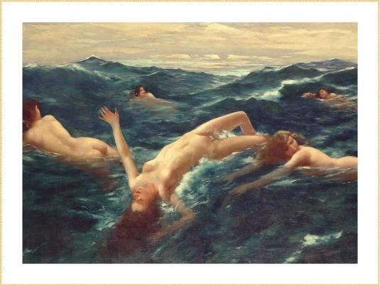 60 HOFFMAN EA nymphe de la mer