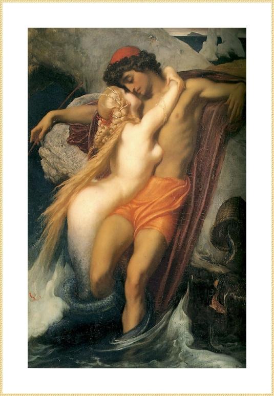 05_Lord_Frederick_Leighton_pecheur et sirene