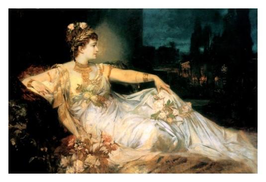 Déguisée en Messaline