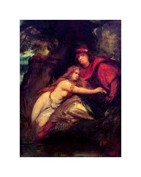 La Nymphe et le troubadour