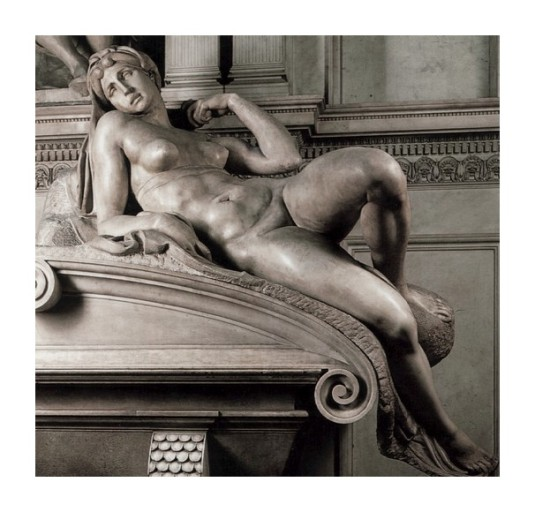 Sculpture: l'Aube