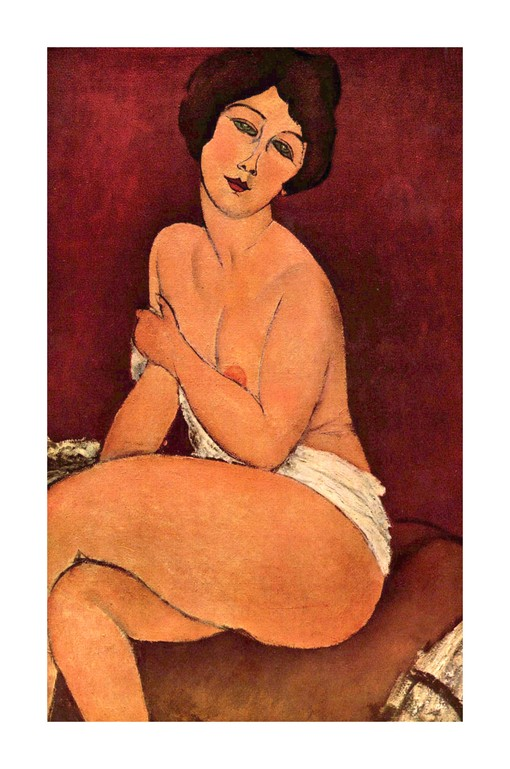 29 Nu-assis Modigliani