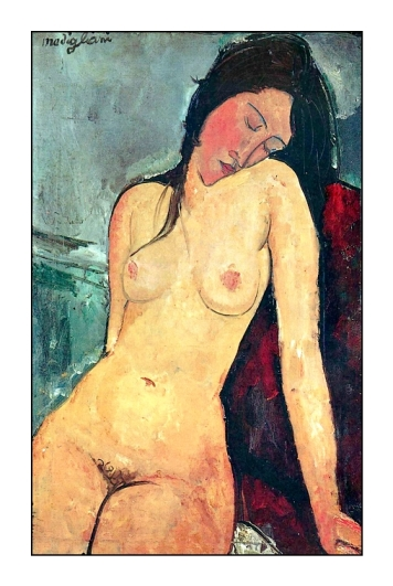 33 Nu assis Modigliani