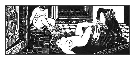 bain / gravure / *