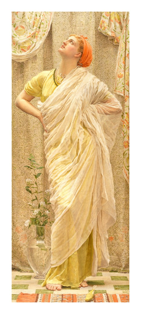Femme au canari