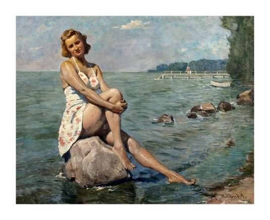 Au bord du lac Balaton