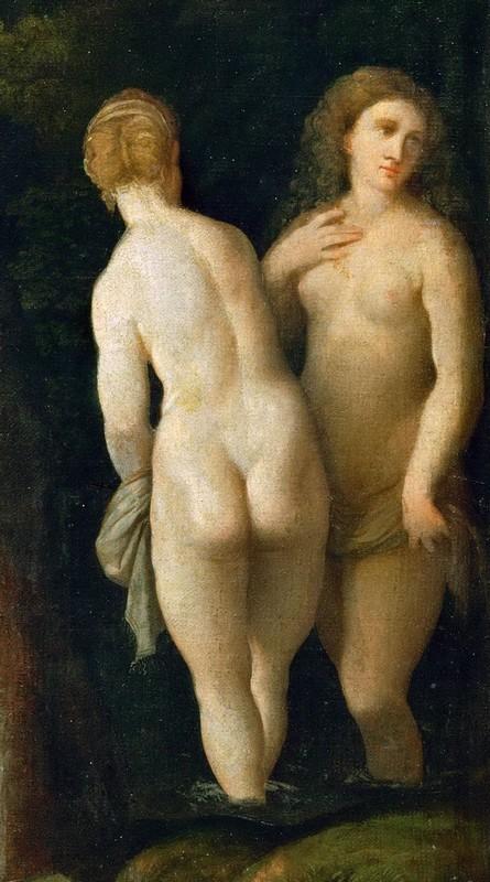 Diane et Callisto   Détail