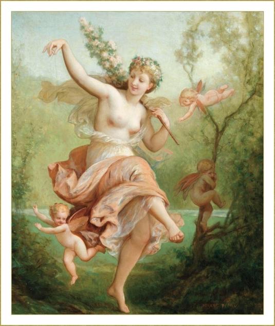 Nymphe dansante