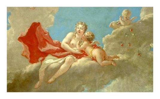Vénus et Cupidon (plafond)