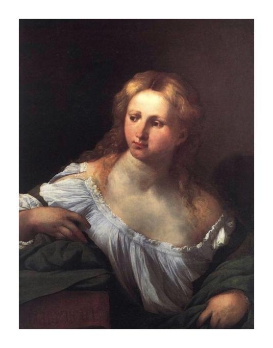 Portrait d'une jeune femme *