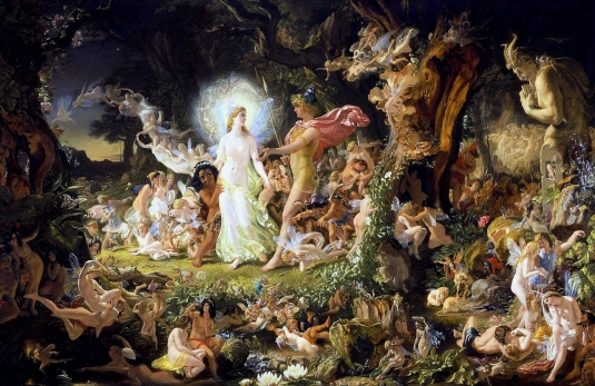 La  Querelle d' Oberon et Titania