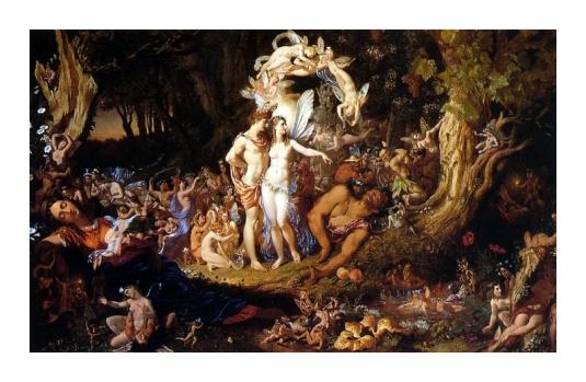 La  Réconciliation d' Oberon et Titania