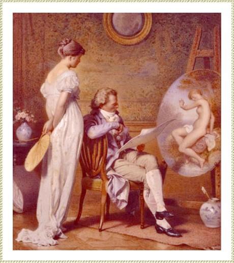 Le Peintre et son modèle *