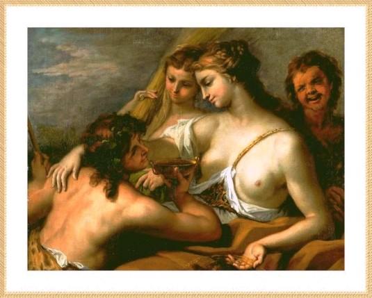Bacchus et Cérès