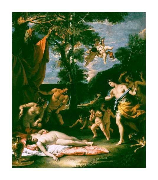 La rencontre de Bacchus et Ariane *