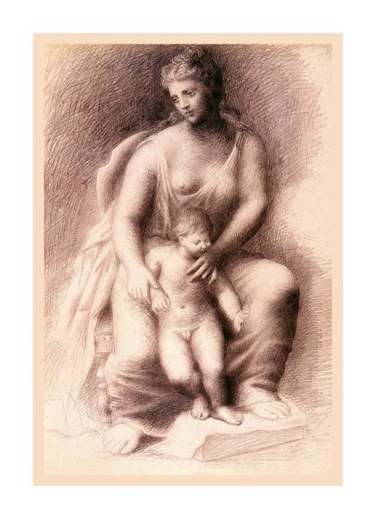 Mère et enfant *