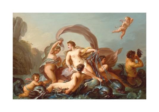 Vénus sur les eaux *