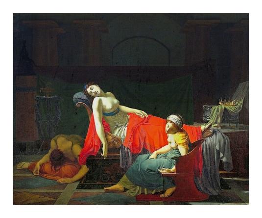 La mort de Cléopatre