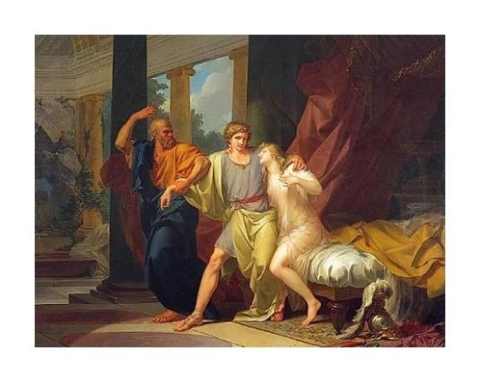 Socrate arrache Alcibiade du sein de la Volupté *