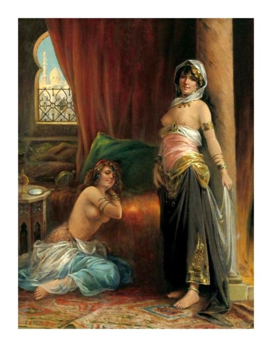 deux beautes du harem *