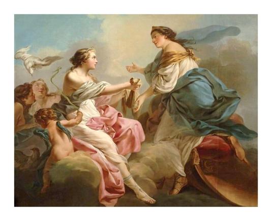 Junon demande sa ceinture a Vénus *