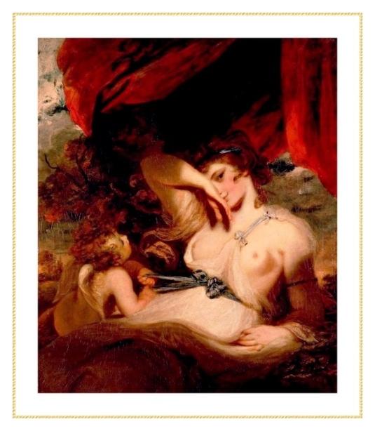 Cupidon délacant la ceinture de Vénus *