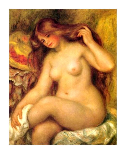 30 baigneuse Pierre Auguste Renoir (1)