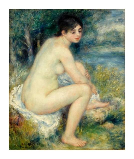 31 baigneuse Pierre Auguste Renoir (4)