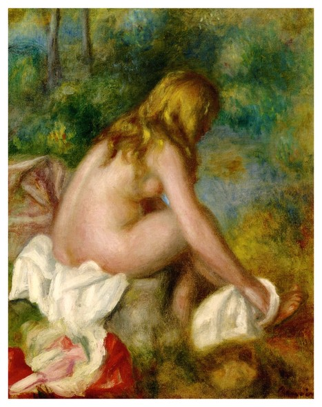 32 baigneuse Pierre Auguste Renoir (5)