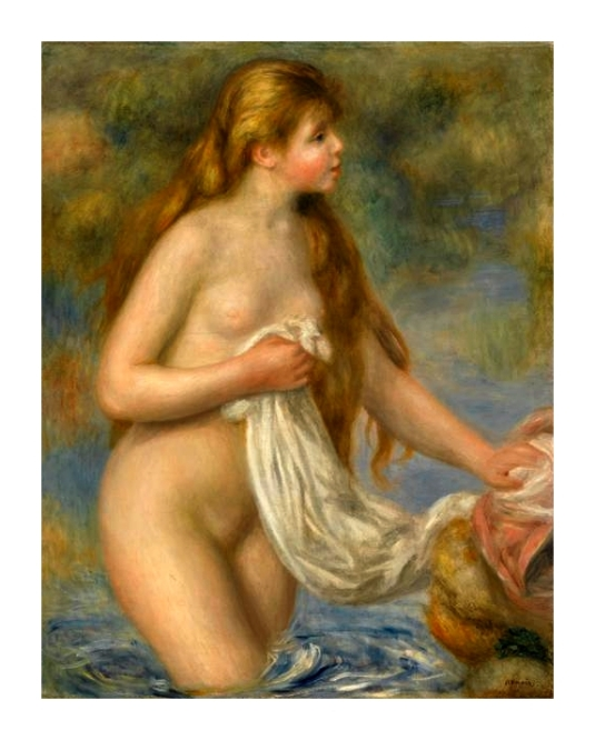 33 baigneuse Pierre Auguste Renoir (4)